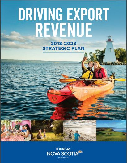 Tourism Nova Scotia 2018-2023 strategic plan cover