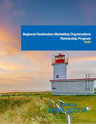 Regional Destination Marketing Organization Partnership Program