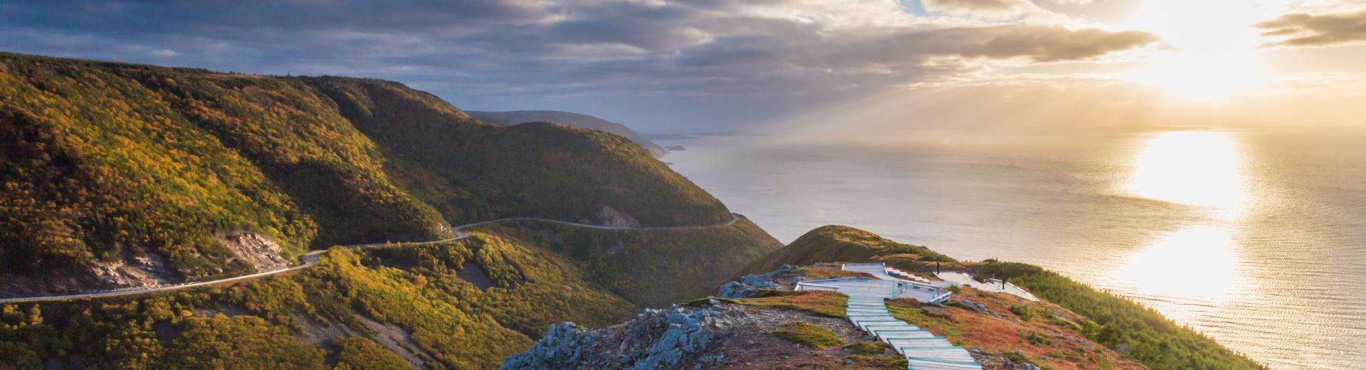Skyline Trail in the Cape Breton Highlands National Park