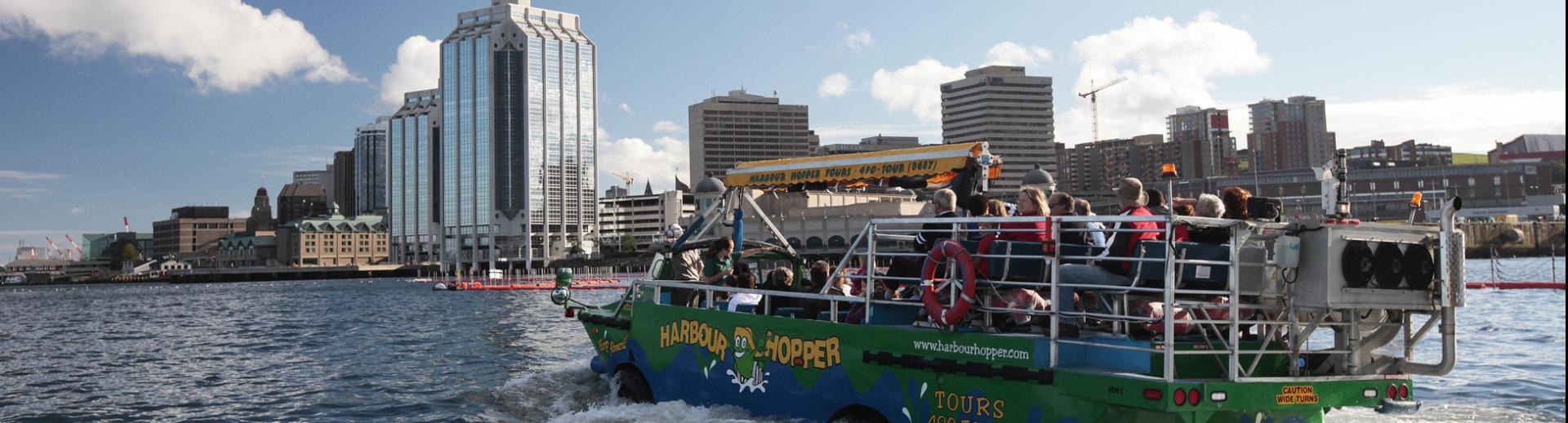 Harbour Hoppper Tour, Halifax Waterfront