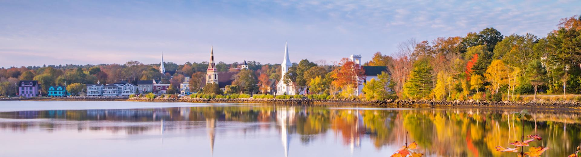 Three Churches, Mahone Bay, NS