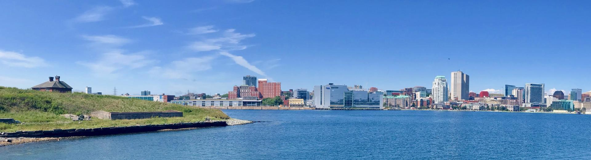 Georges Island and the Halifax Waterfront