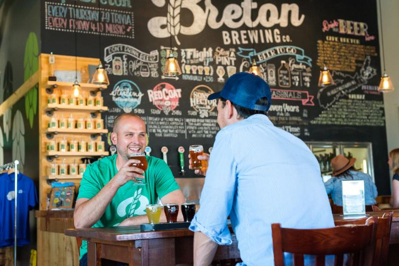 Tastings at Breton Brewing