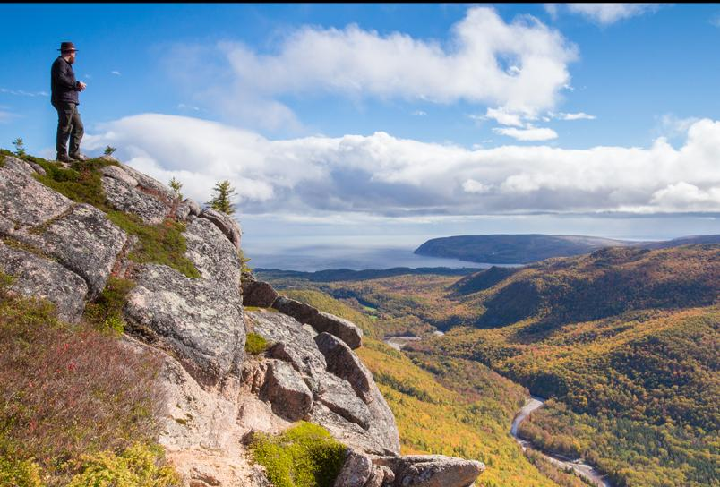 Franey Trail in the Cape Breton Highlands National Park.