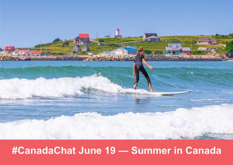June #CanadaChat Promo