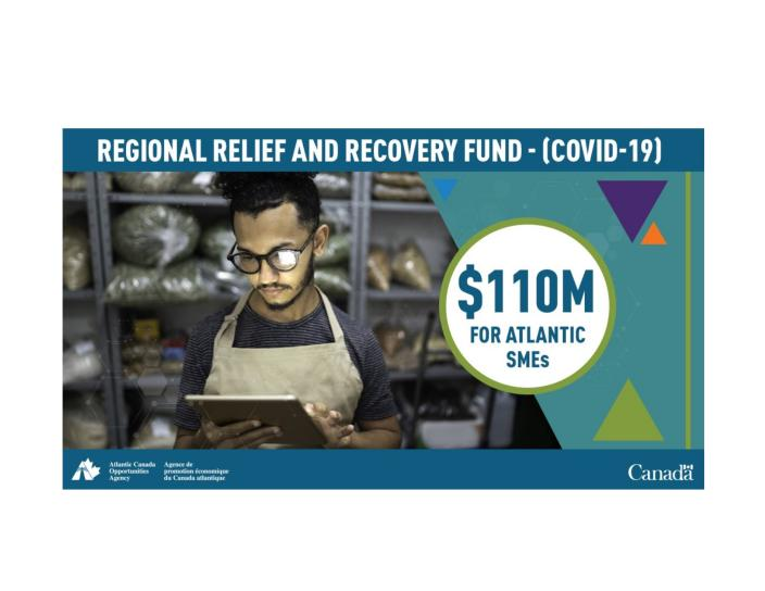 Regional Relief and Recovery Fund $110M for Atlantic SMEs
