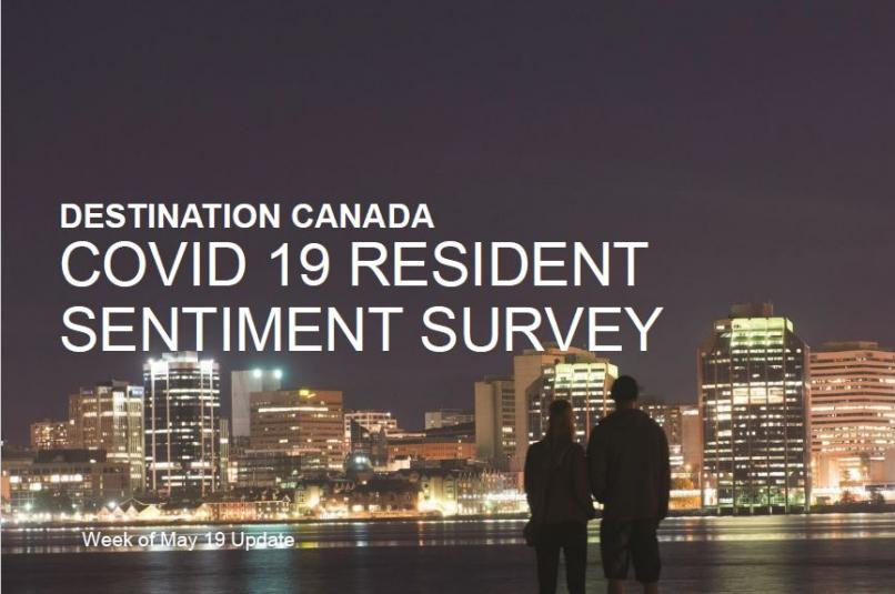 Destination Canada COVID-19 Resident Sentiment Survey May 19
