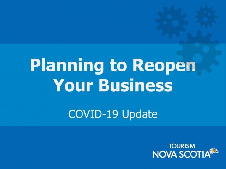 Planning to Reopen Your Business COVID-19 Update