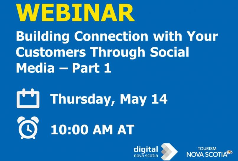 Webinar Building Connection with Customers through social media