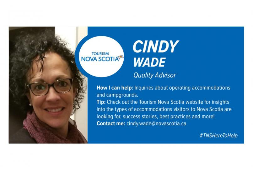 Graphic of Cindy Wade
