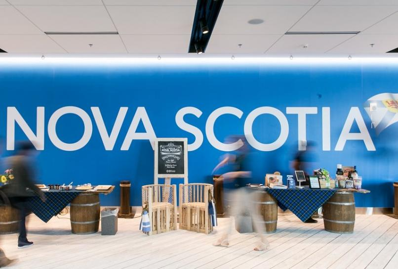 Nova Scotia Booth at the RVC Conference