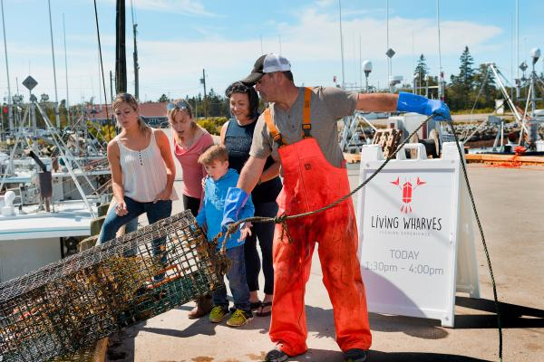Living Wharves in the Yarmouth & Acadian Shores region